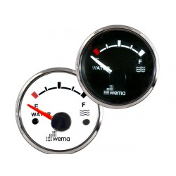 WATERTANK METER VDO  -  WEMA SILVER SERIE