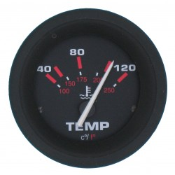 WATERTEMP METER 40-120 °C USA 60 MM -VEETHREE AMEGA