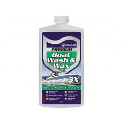 Attwood Premium Boot Shampoo en Wax 1 Ltr
