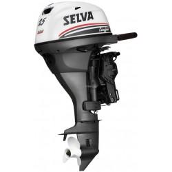 Selva 25 Pk  KingFish  Handstart 4-takt Kortstaart