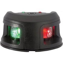 Attwood zwart kunststof LED 2-Kleurenlicht opbouwmontage