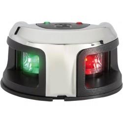 Attwood zwart RVS LED 2-Kleurenlicht opbouwmontage