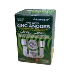 ANODE KIT ZINK BRAVO 1 - MARTYR