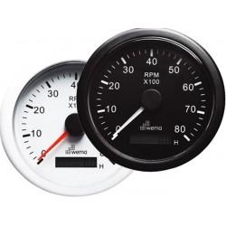TOERENTELLER 8000 RPM MET URENTELLER -WEMA