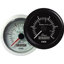 SNELHEIDSMETER GPS 15 KNP - 27 KM KOMPAS -WEMA