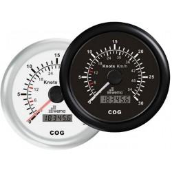 SNELHEIDSMETER GPS 30 KNP - 54 KM KOMPAS -WEMA
