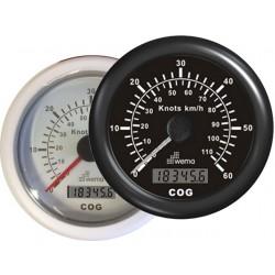 SNELHEIDSMETER GPS 60 KNP - 110 KM KOMPAS -WEMA