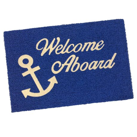 WELCOME ON BOARD MAT