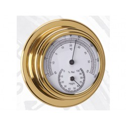 ANVI THERMO - HYGROMETER 95MM MESSING