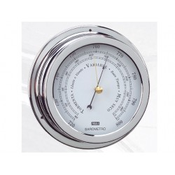 ANVI 150MM CHROOM BAROMETER