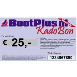 Kadobon 25 Euro -BootPlus-