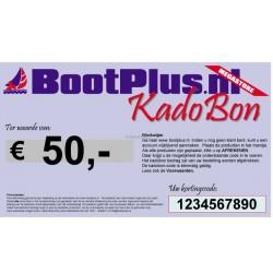 Kadobon 50 Euro -BootPlus-