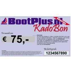 Kadobon 75 Euro -BootPlus-