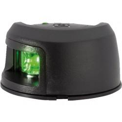 Attwood zwart kunststof LED Stuurboord opbouwmontage
