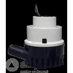 Maxi bilgepomp 75l/min, 12V, 4.0A, Ø 29mm-slangaansluiting