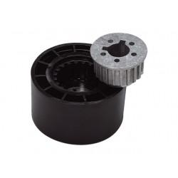 Adapter met afdekkap (hub) x63