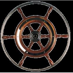 STUURWIEL TYPE-3 MAHONIE 42 CM