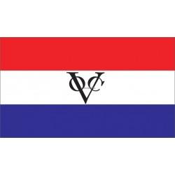 NEDERLANDSE VOC VLAG CLASSIC - SLOEPENVLAG