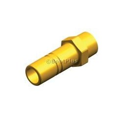 "ADAPTER 3/8"" NPT 15 MM QUICK CONNECT-WHALE-"