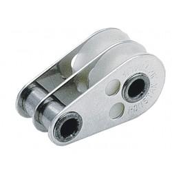 2-SCHIJFS BLOK - 2 GATS 5 MM