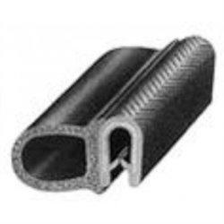 Klemprofiel met sponsrubber zijkant 2 - 5 mm