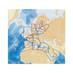 Navionics Platinum+ XL3 25P UK South tot Hamburg