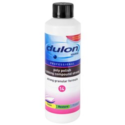 DULON poly polish rubbing compound strong 14 0,5 Liter