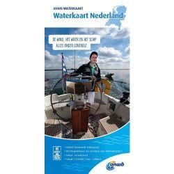 ANWB Waterkaart Nederland 2019