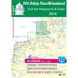 NV. Atlas DE 10 Nordfriesland Sylt tot Helgoland & Eider 2019