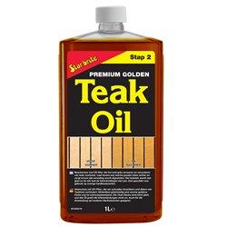STARBRITE TEAK PREMIUM GOLDEN OIL 1 LITER