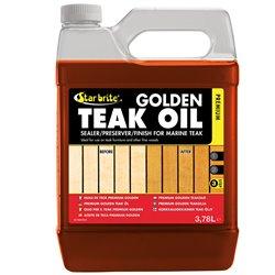 STARBRITE TEAK PREMIUM GOLDEN OIL 3,79 LITER