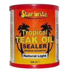 STARBRITE TEAK TROPICAL OIL SEALER  946 ML