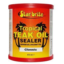 STARBRITE TEAK TROPICAL OIL SEALER CLASSIC  473 ML