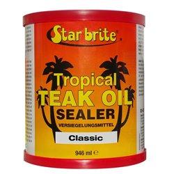 STARBRITE TEAK TROPICAL OIL SEALER CLASSIC  946 ML