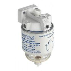 Vetus waterafscheider/brandstoffilter met pomp | max 190 liter