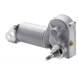 "Ruitenwissermotor 12V korte as 1"", DIN aansluiting"