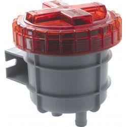 Vetus NSF25D   geurfilter dieselolie   25mm Ø slangaansluiting