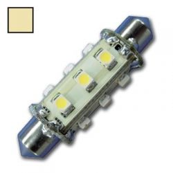 Ledlamp Festoon | 10-30 Volt | Warm wit
