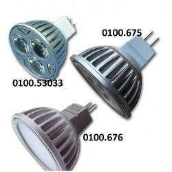 Hollex Ledlamp MR16 | 10-30 Volt | warm wit