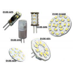 Hollex ledlamp G4/GU4 achteraansluiting | 10 - 30 Volt
