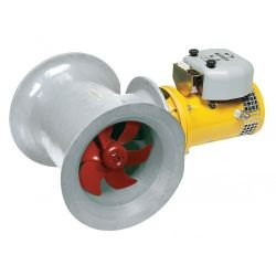 Polyester hekschroef tunnel D 300 mm (220 kgf)