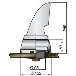Vetus BOXS75 | doradebox voor Vetus luchthappers