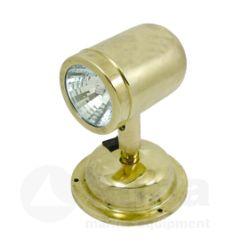 Allpa messing leeslamp | halogeen | wandmontage