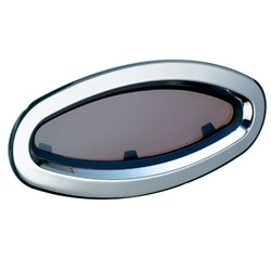 Lewmar Portlight RVS Ellipsvorm Openslaand