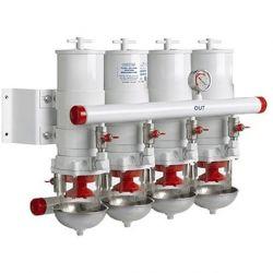 Brandstoffilter / Waterafscheider | Viervoudig | 30 Micron | Vetus