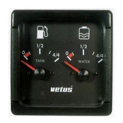 Brandstof- en waterniveaumeter | Vetus WFMETER
