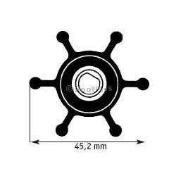 JOHNSON PUMP F 3 IMPELLER