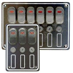Schakelpaneel 12V met LED indicators