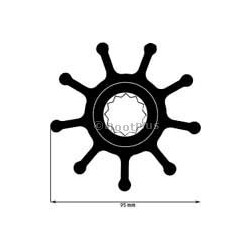 JOHNSON PUMP F 9 IMPELLER