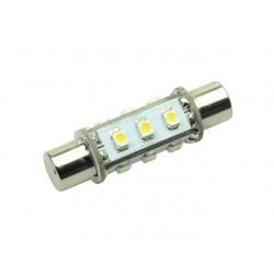 S-LED 12  Festoon 42 mm Aqua Signal